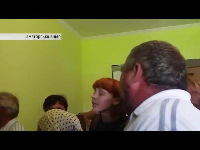 Знову конфлікти у Ломачинцях сесію сільради хотіли зірвати, депутатів обливали водою. 30.07.2018
