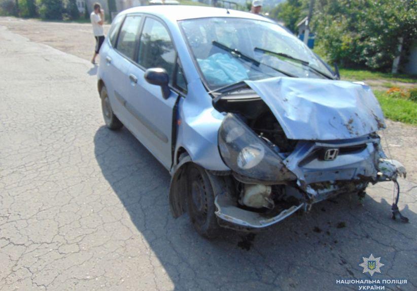 На Буковині за вихідні внаслідок ДТП постраждали п'ятеро людей