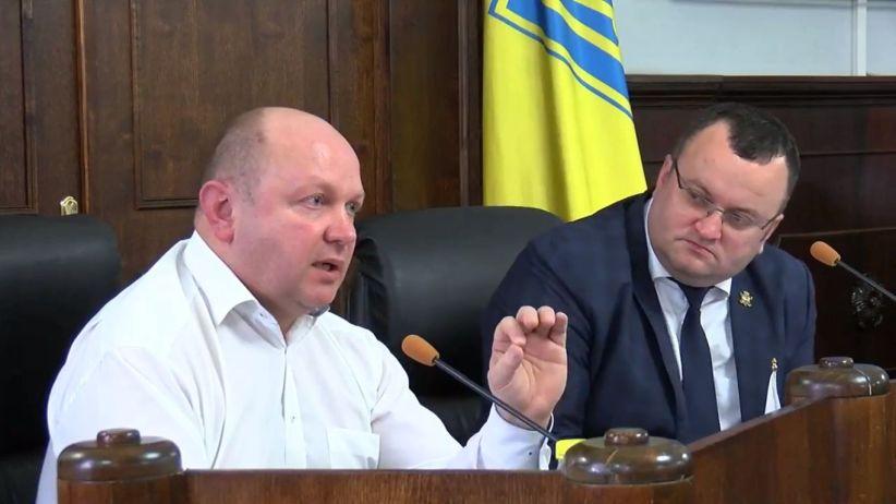 Секретар міськради Продан надав обгрунтування проекту рішення про відставку мера Чернівців