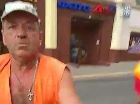У Чернівцях місцевий мешканець зняв на відео конфлікт з шляховиками