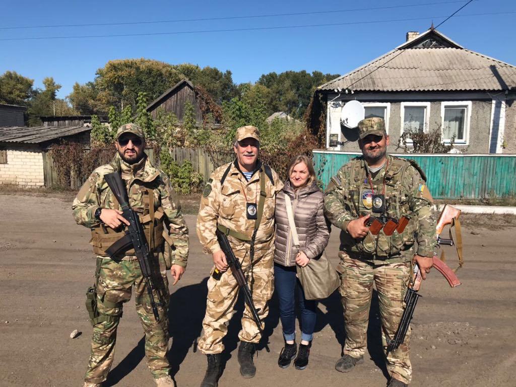 Українська волонтерка розповіла про свій досвід