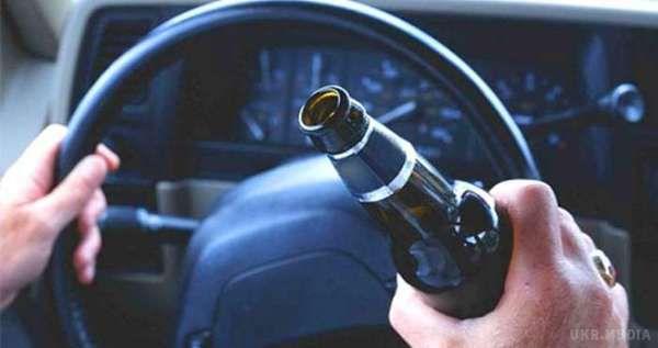 В Україні можуть посилити відповідальність для п'яних за кермом