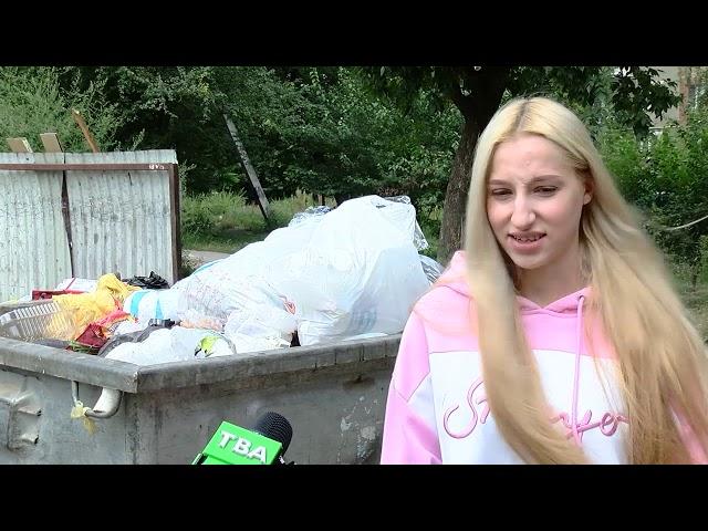 У деяких районах Чернівців майже тиждень не вивозили сміття