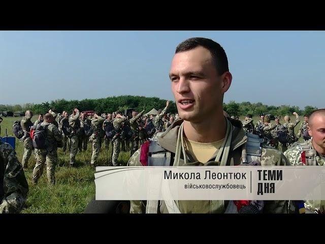 Десантники вперше за багато років вправлялися у стрибках у Лужанах на Буковині