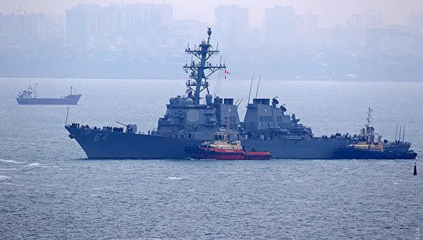 В Чорне море увійшов американський есмінець