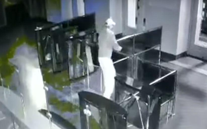 Стрілянина в Харкові: з'явилося відео з камер спостереження