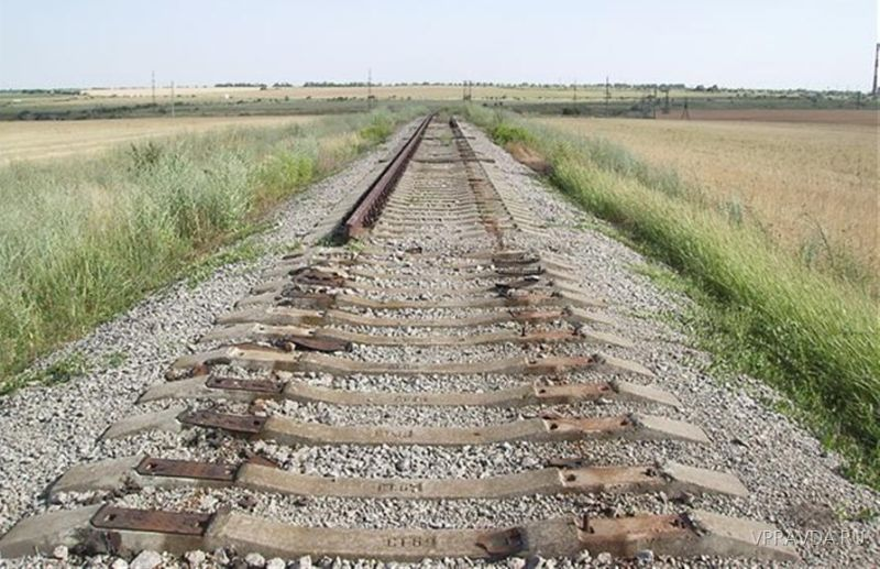 На Сокирянщині невідомі викрали понад 100 метрів залізничної колії