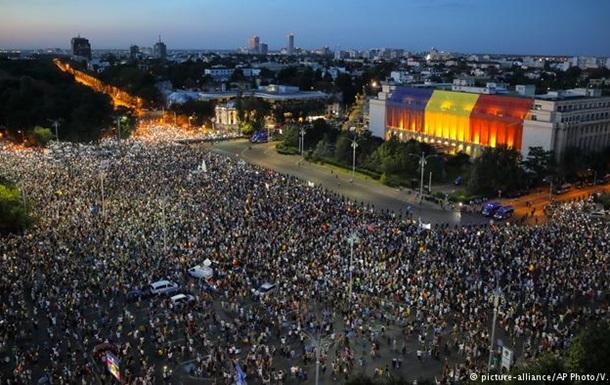 В Румунії тривають протести проти уряду