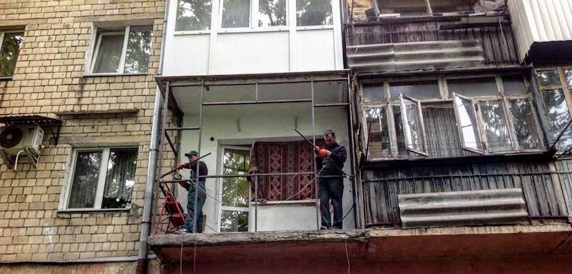З 1 жовтня при проектуванні нових будинків дозволено склити балкони