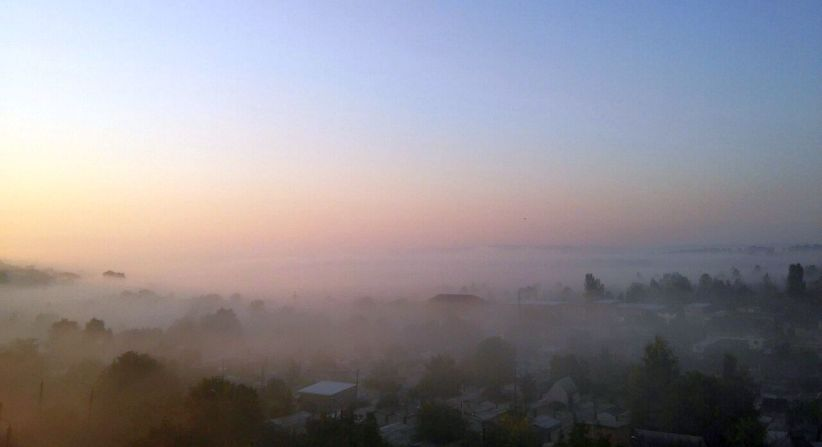 Завтра у Чернівцях +18, туман