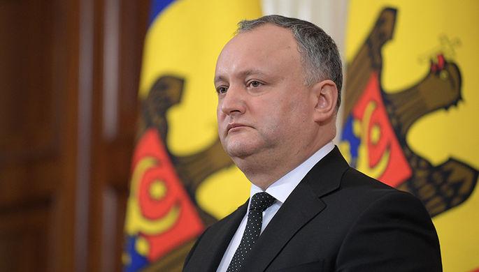 На парламентських виборах у Молдові президент підтримає проросійську партію