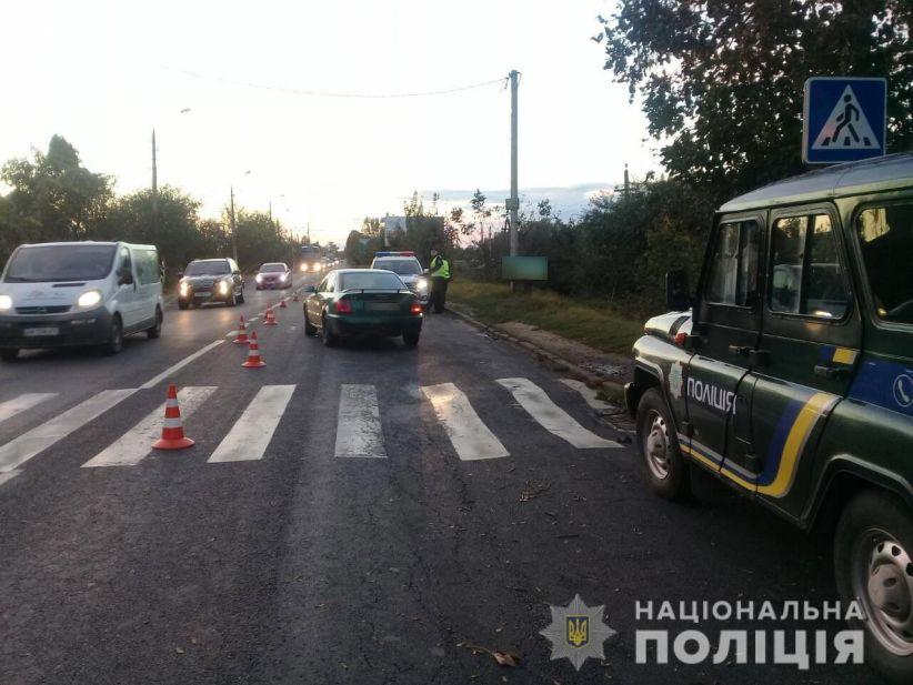 У Чернівцях водій збив дитину на пішохідному переході