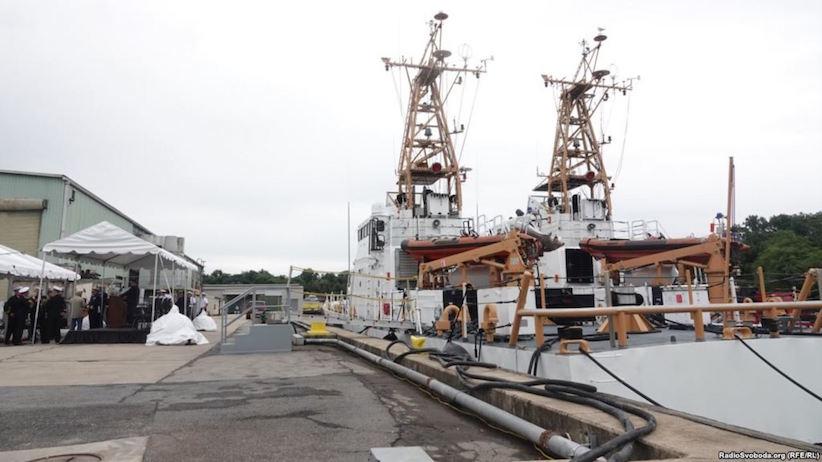 США подарували Україні 2 патрульні катери типу Island