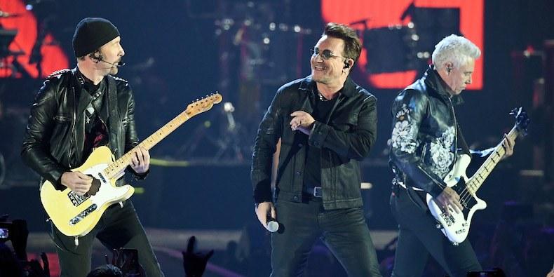Вокаліст U2 втратив голос під час концерту