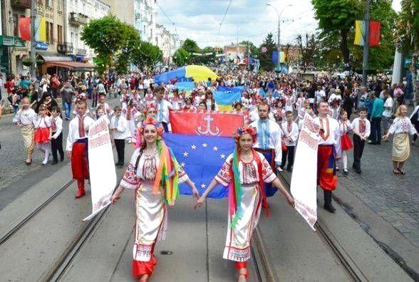 День міста відзначають одразу п'ять обласних центрів України