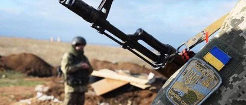 """""""Війна на Донбасі"""": поранено українського військовослужбовця"""