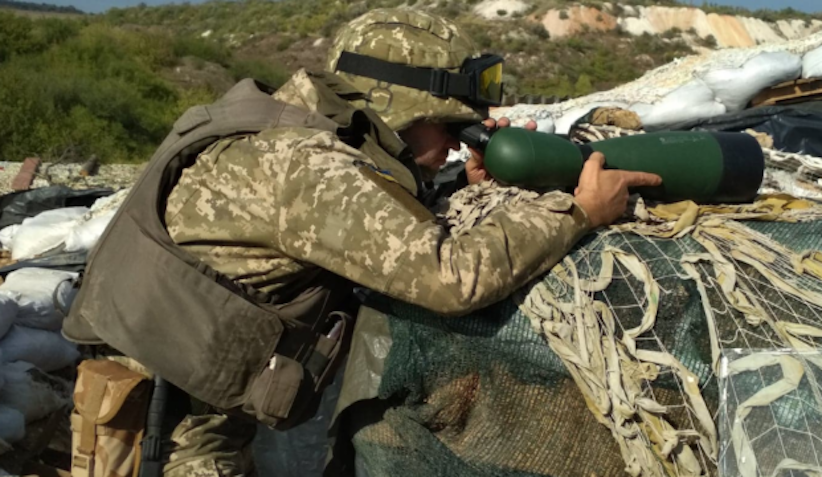 Війна на Донбасі: бойовики 4 рази обстріляли позиції українських військових