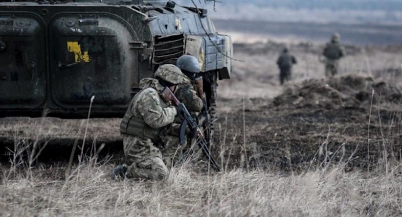 Війна на Донбасі: російські війська п'ять разів обстрілювали позиції ОС