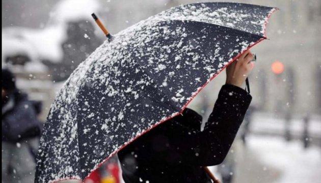 Завтра у Чернівцях +3º, сніг з дощем