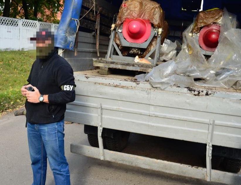 Військовий намагався викрасти авіадвигуни і продати їх РФ – СБУ (відео, фото)