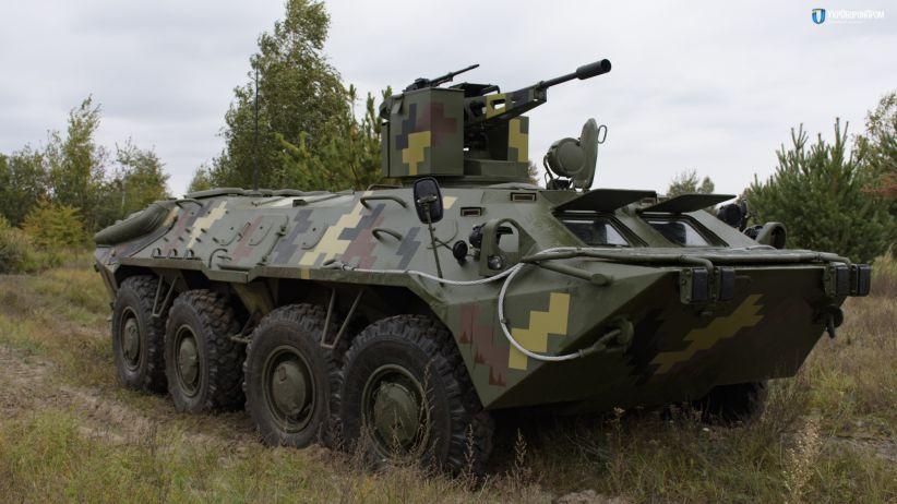 В Україні показали модернізований БТР-70 (відео)