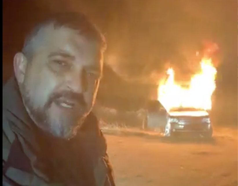 Поки українці демонстративно спалюють автівки, італійці почали свою боротьбу з єврономерами (відео)