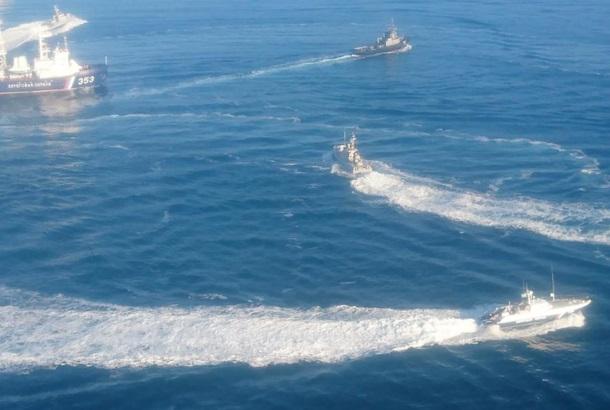 У мережі з'явився аудіозапис переговорів екіпажів кораблів РФ з командуванням