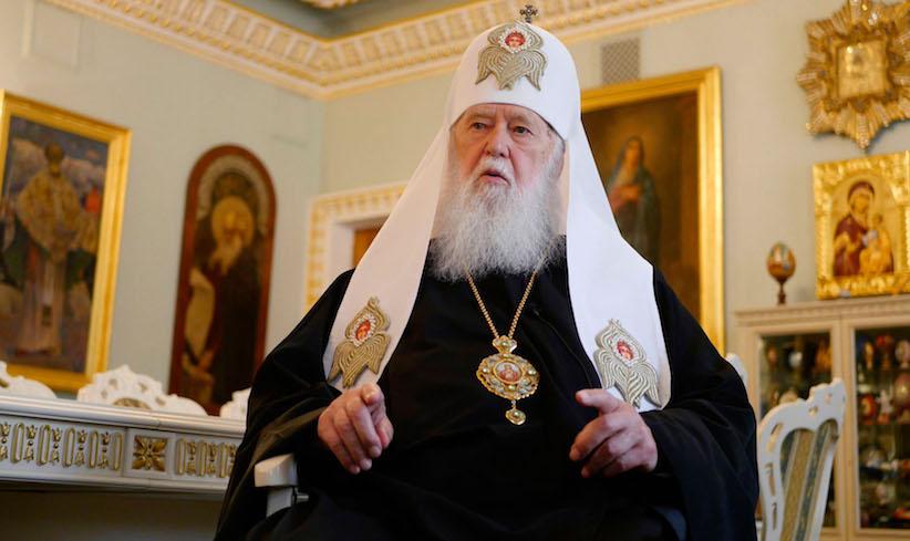 Патріарх Філарет пояснив, чому не претендував на посаду глави єдиної церкви