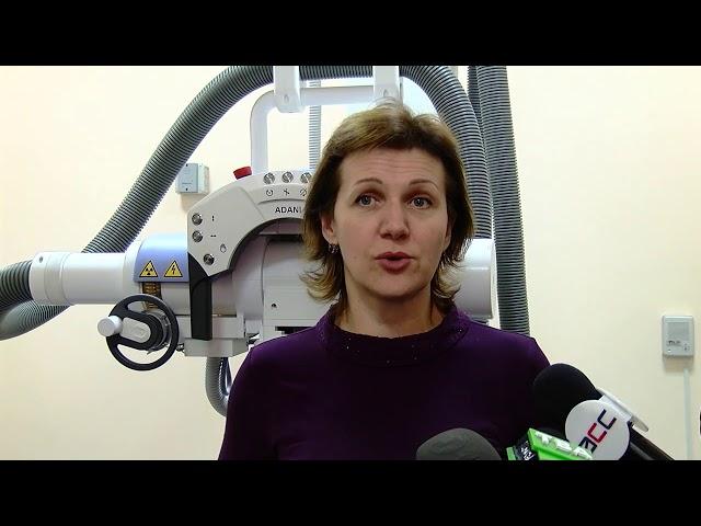У Чернівецькому онкодиспансері запрацював новий рентген-терапевтичний апарат