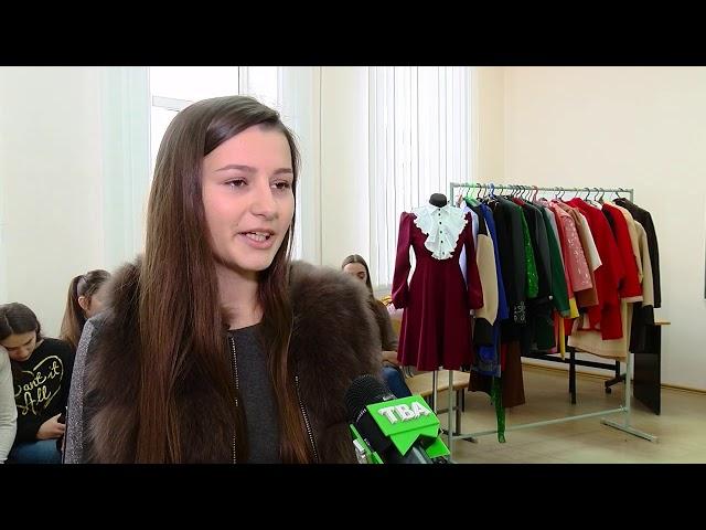 Щедрий вівторок: Чернівецькі студенти роздарували зшитий власноруч одяг