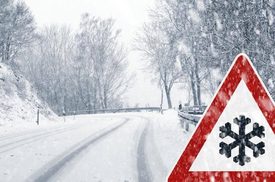 Завтра у Чернівцях від -3º до -15º, сніг та ожеледиця