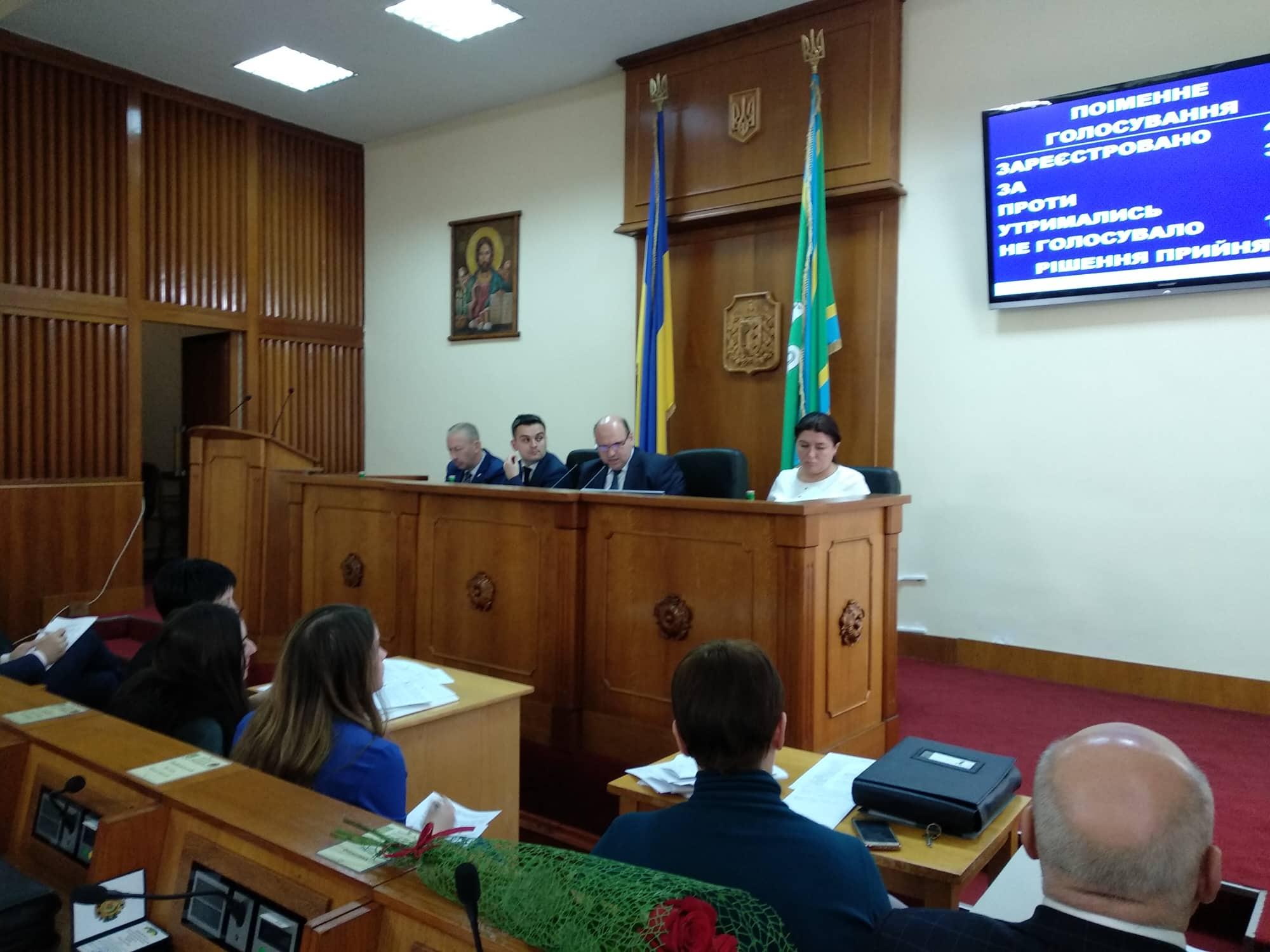 На сесії Чернівецької облради ухвалили бюджет області на 2019 рік