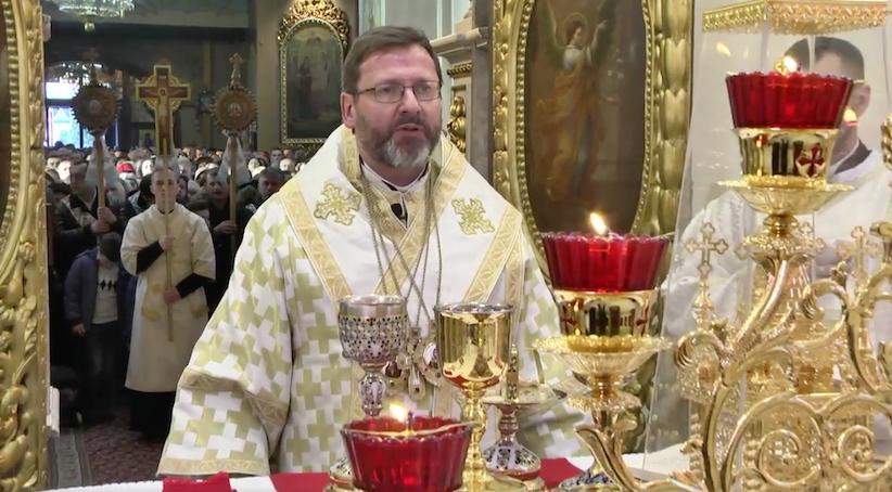 Глава УГКЦ Блаженніший Святослав у Чернівцях очолив урочисту літургію