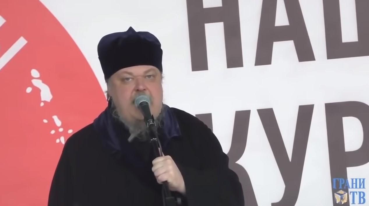 Московський піп закликав росіян захопити Київ (відео)