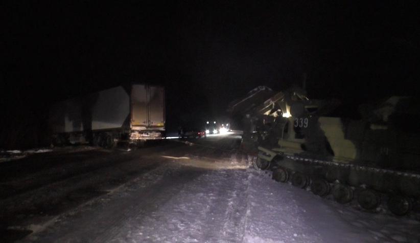 За добу рятувальники витягли зі снігових пасток понад 400 автомобілів