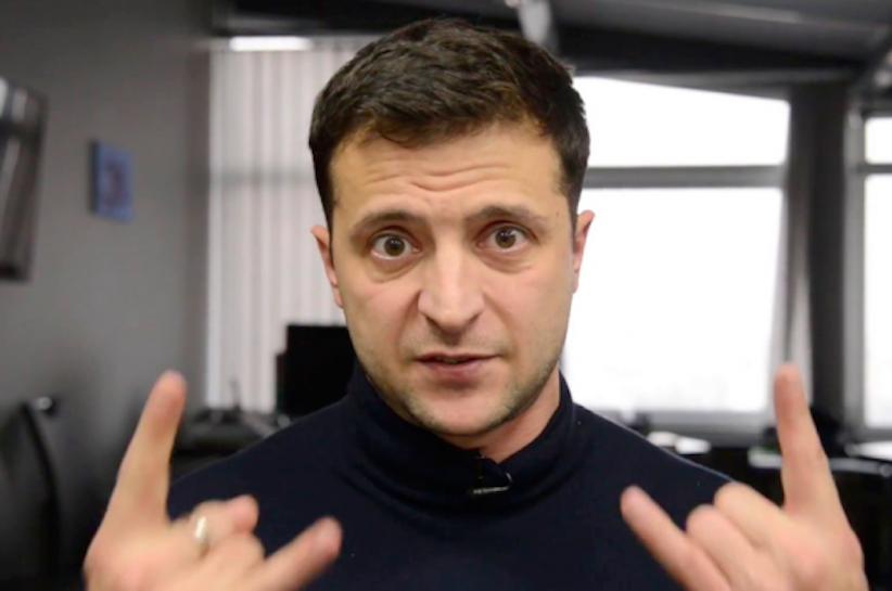 Прихильники Михайла Саакашвілі перейшли у спадок Володимиру Зеленському