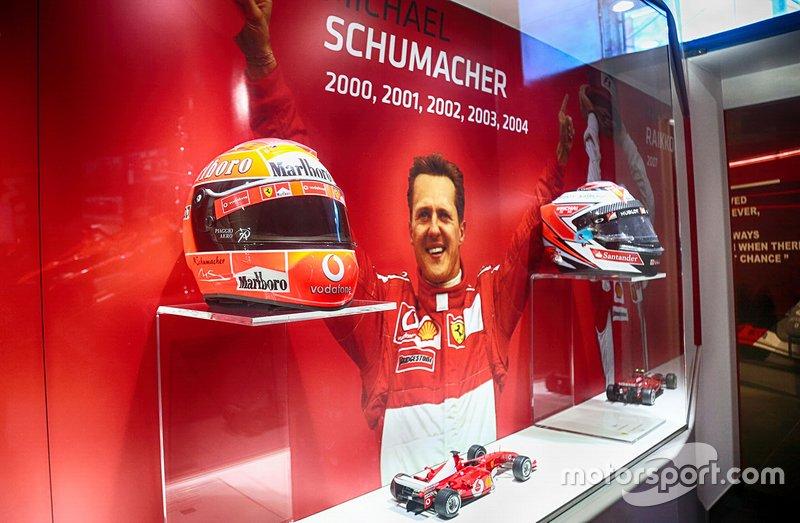 У музеї Ferrari до ювілею Міхаеля Шумахера відкрили виставку (фото)