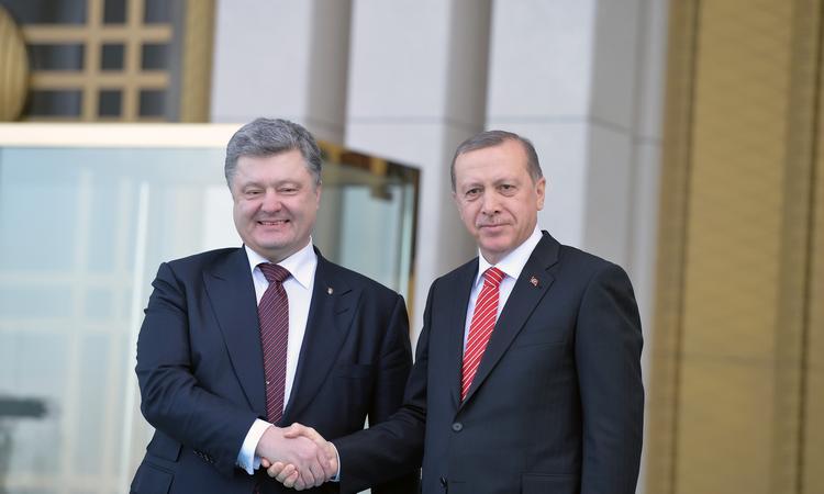 Порошенко зустрівся з президентом Туреччини Ердоганом