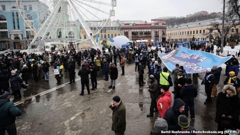 """""""Я – поліцейський, я – бандера"""": Поліцейські Буковини не підтримують дії колег на акції у столиці"""