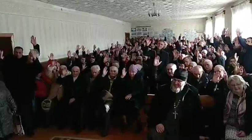 Громада села Михальча Чернівецької області приєдналася до ПЦУ