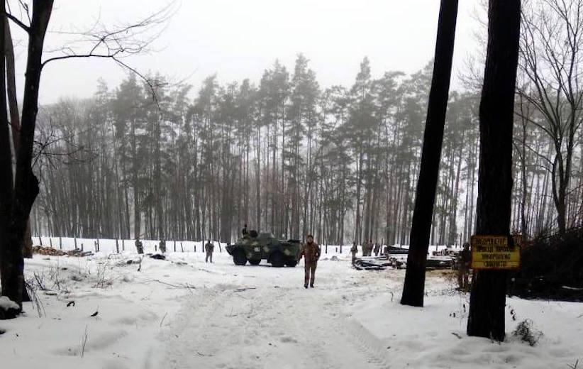 Біля військового об'єкта ЗСУ затримали трьох підозрілих осіб – Генштаб