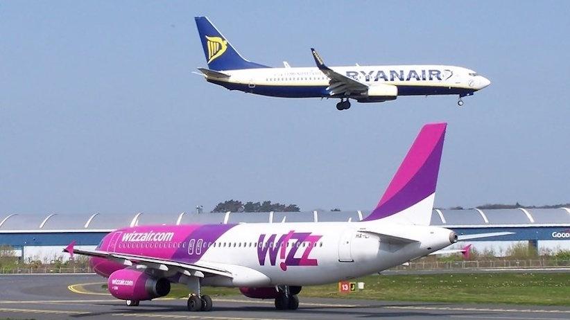 Лоукостери Wizz Air та Ryanair відкрили в Україні рейси до Греції