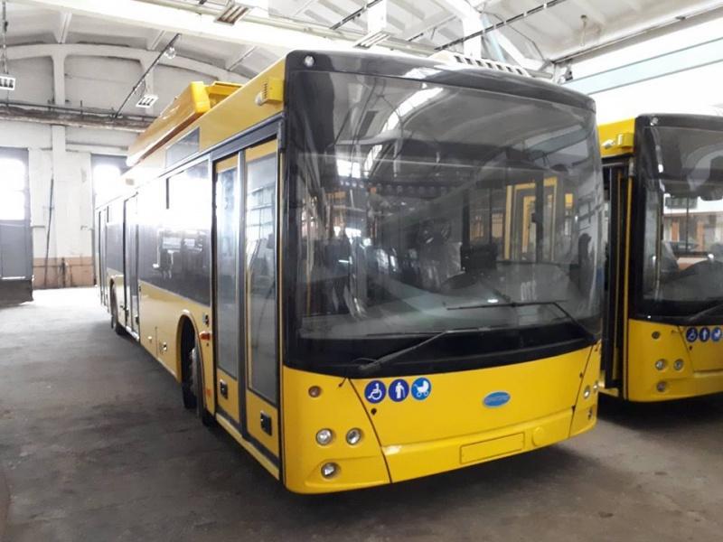 Для Чернівців планують закупити 20 тролейбусів