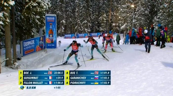 Біатлон: Поки Підручний змагався за золото, росіянин помилково пробіг зайве штрафне коло
