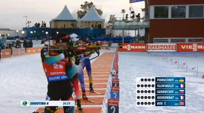 Вперше в історії український біатлоніст виграв чемпіонат світу