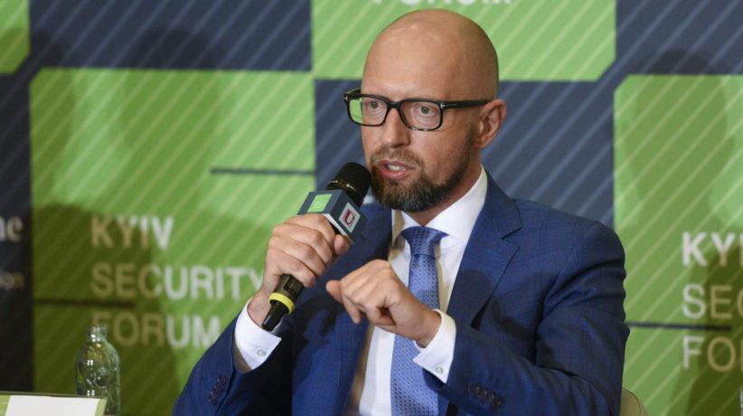 Арсеній Яценюк: Зробити Україну членом НАТО і ЄС – це найкраща відповідь диктатору Путіну