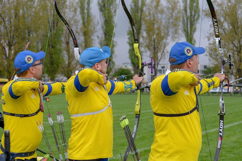 Гран-прі Європи: українські лучники вибороли дві медалі