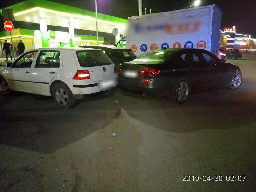У Чернівцях ще один нетверезий водій скоїв ДТП