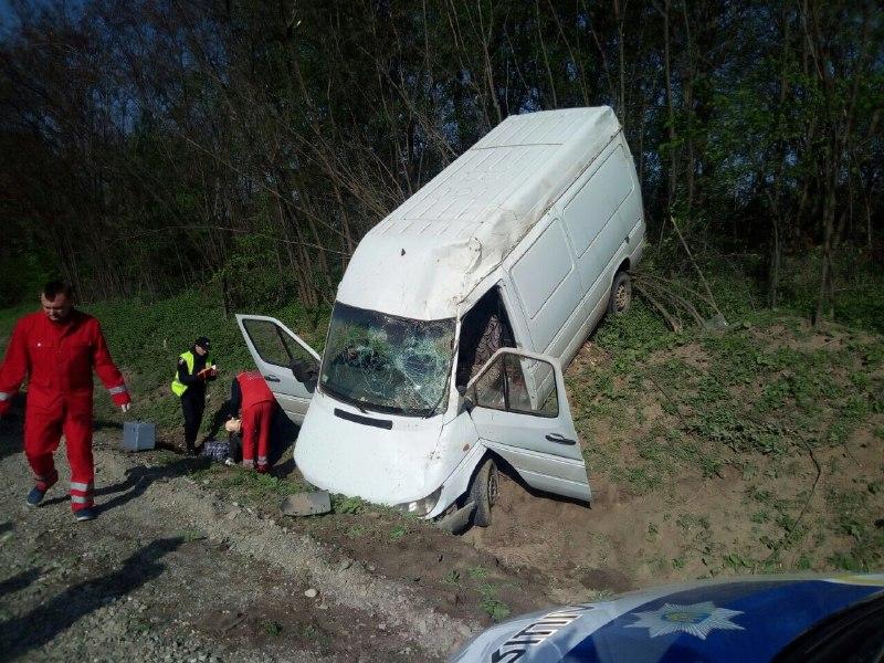 На Буковині внаслідок ДТП травмовано двох людей