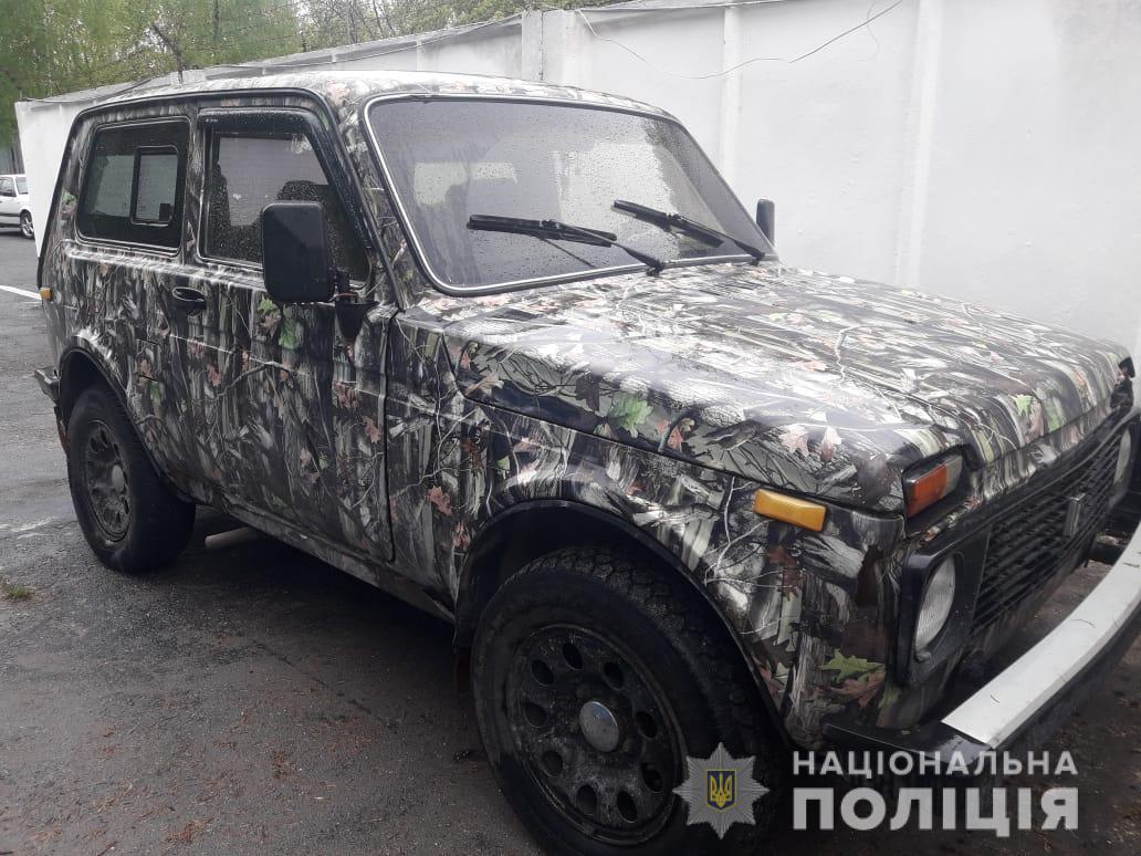У Чорнобильській зоні жінка вкусила поліцейського